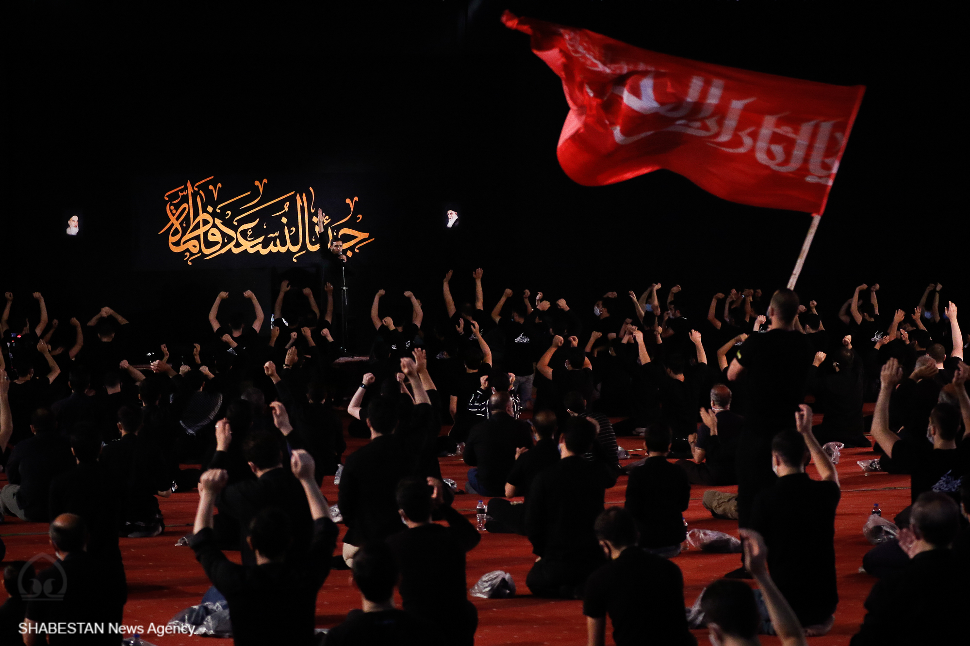 عزاداري امام حسين (ع) تا ظهور امام مهدي (عج) ادامه دارد +فیلم