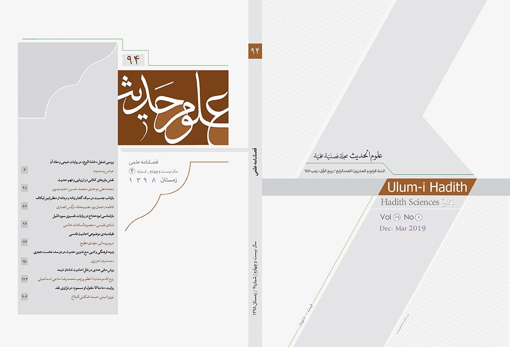 بررسی تمثیل «خامه الزرع» در روایات شیعی و مفاد آن