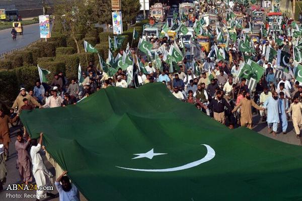 پیاده روی اربعین حسینی در پاکستان