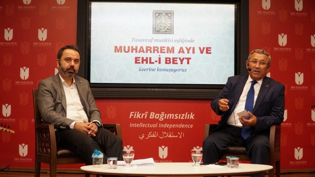 برگزاری مجلس محرم در دانشگاه ابن خلدون استانبول، ترکیه